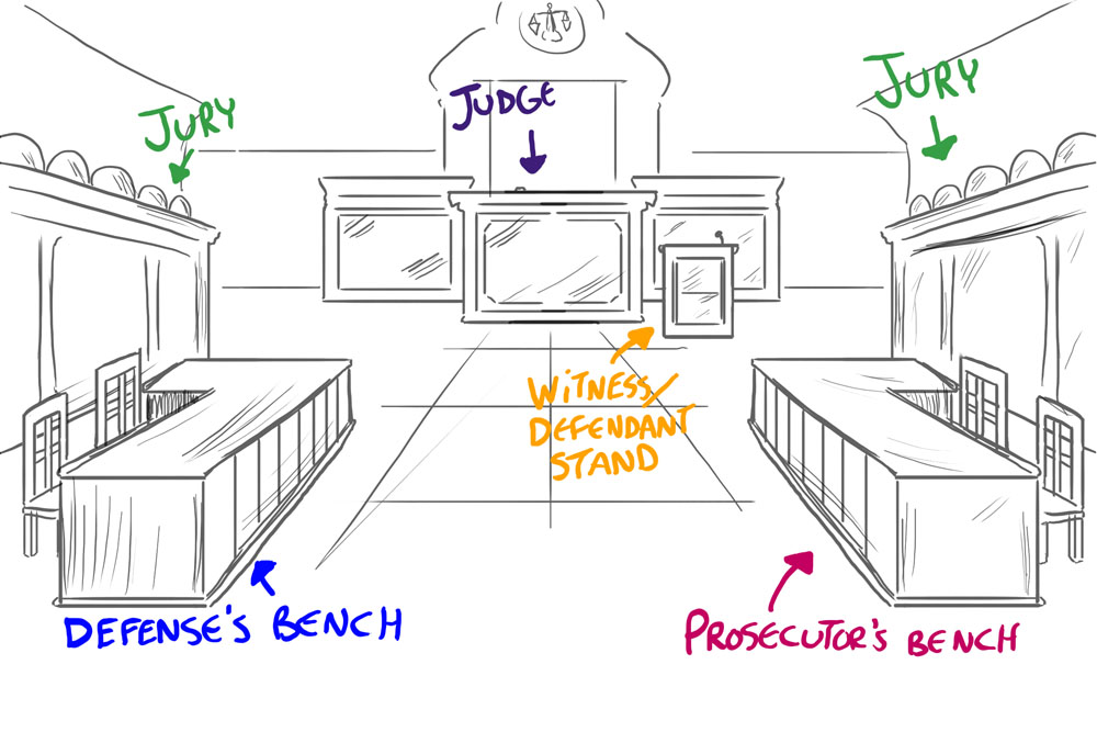 courthouse coloring pages - photo#4