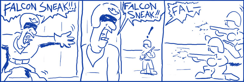 051 – Captain Falcon Solid