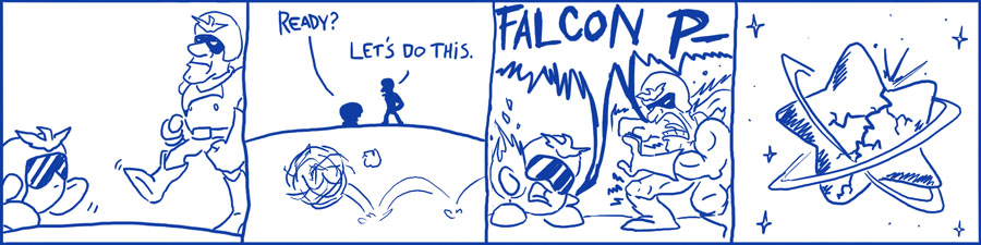 069 – Captain Falcon and Kirby