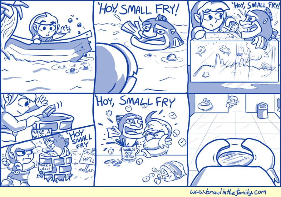 'HOY, SMALL FRY