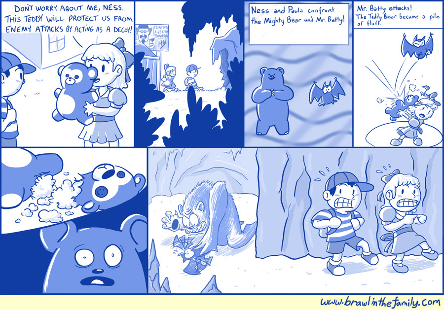 Sometimes people wonder why I use a blue monochrome for most of the comics--the fact is, I'm actually a Happy-Happyist.