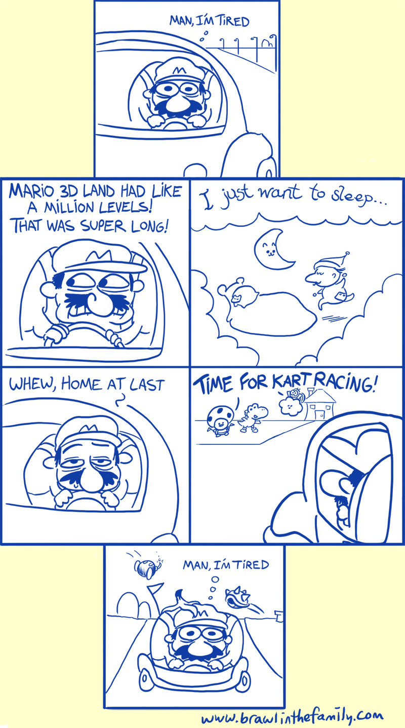 Kirby had a similar problem a couple months ago.