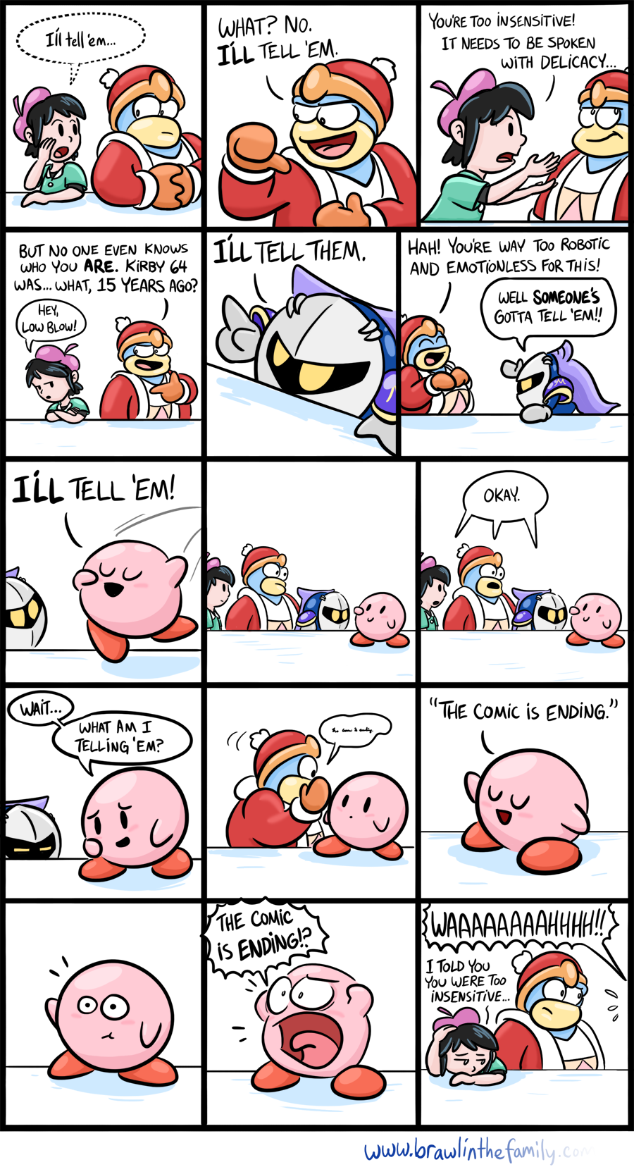 I think I'll go join Kirby with the Kleenex...*sniff*