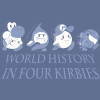 """World History in Four Kirbies"" T-shirt"